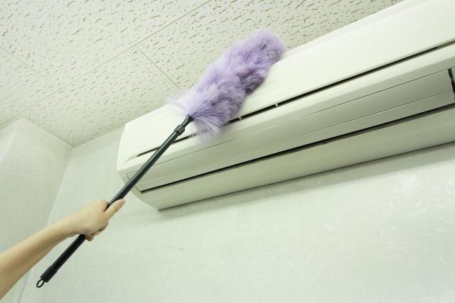 エアコンの掃除を年末に向けて自分で行おう!