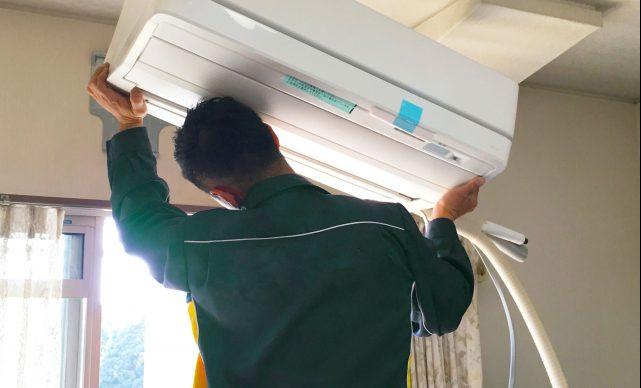 エアコンの取り付けを自分でおこなう方法